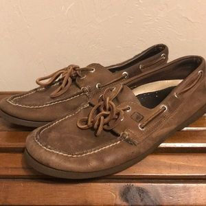 Brown Sperry Top-Sider boat shoes